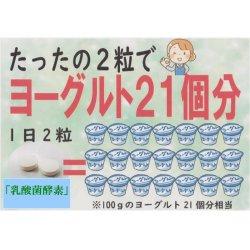 画像3: 乳酸菌酵素 60粒   (2粒ヨーグルト21個分の乳酸菌)